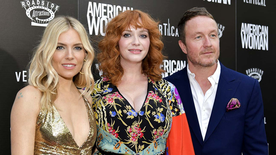 "Premiere Of Roadside Attraction's ""American Woman"" -Sienna Miller, Christina Hendricks, and Jake Scott-Getty-H 2019"