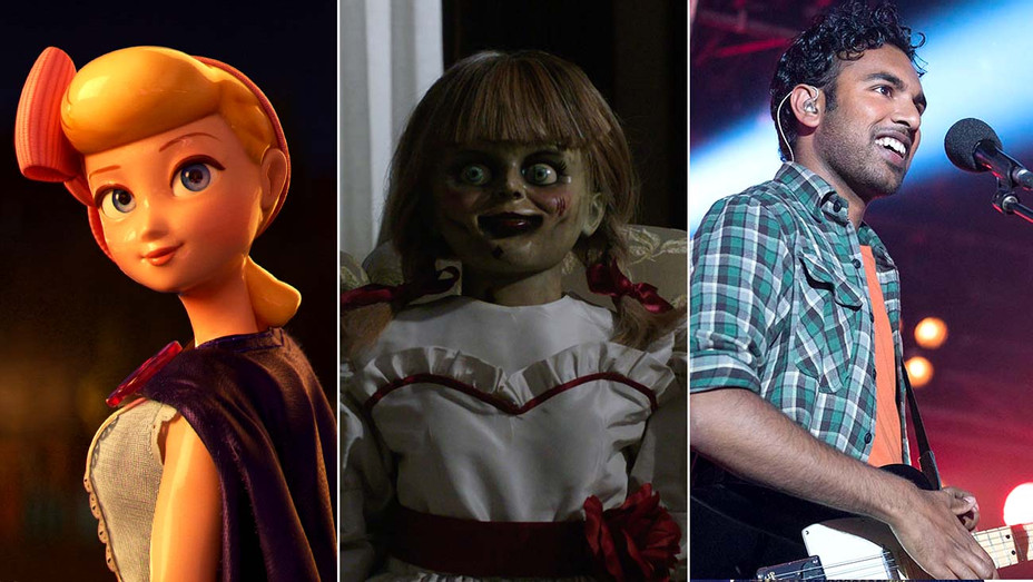 Toy Story 4, Annabelle Comes Home and Yesterday-Publicity Stills-Split-H 2019