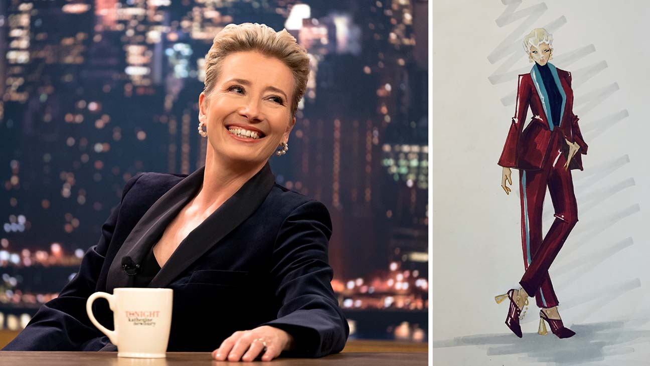 Late Night Costume Designer Breaks Down Emma Thompson S Power Pantsuits Hollywood Reporter