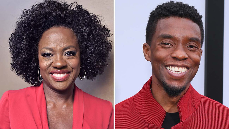 Viola Davis, Chadwick Boseman Split-Getty-H 2019