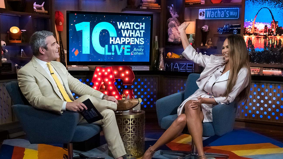Watch What Happens Live with Andy Cohen-Chrissy Teigen-Publicity-H 2019
