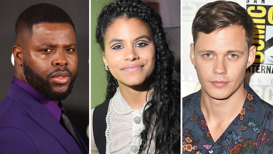 Winston Duke Zazie Beets Bill Skarsgard Split - Getty - H 2019