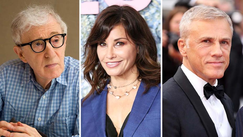 Woody Allen- Gina Gershon- Christoph Waltz-Getty-Split-H 2019