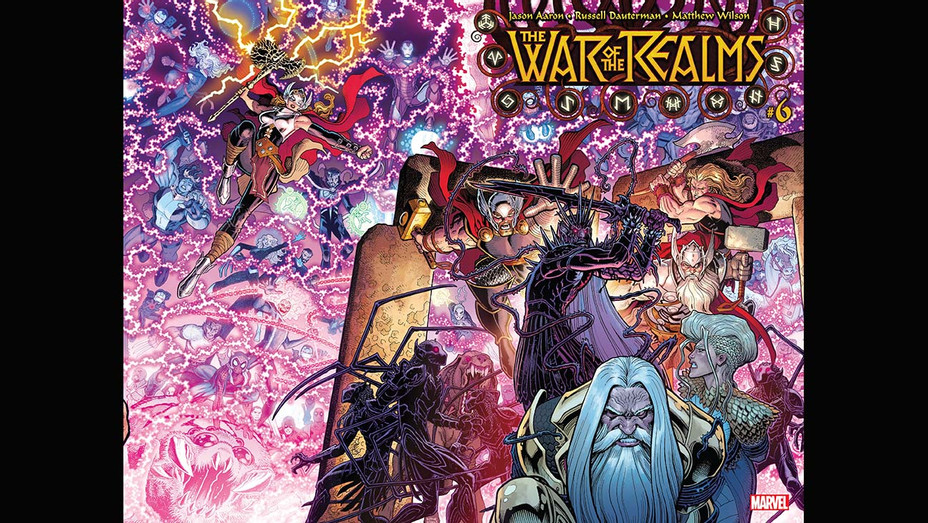 War of the Realms 6 Cover - Arthur Adams/Marvel - Publicity-H 2019