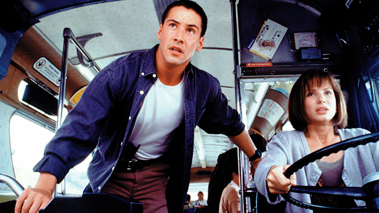 'Speed' Anniversary: Keanu Reeves, Sandra Bullock | June 10, 1994