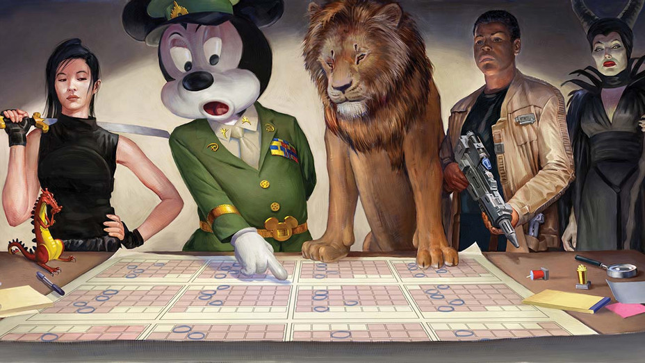Disney's Expanding Dominance at the Box Office - Illustration by Matt Collins - H 2019