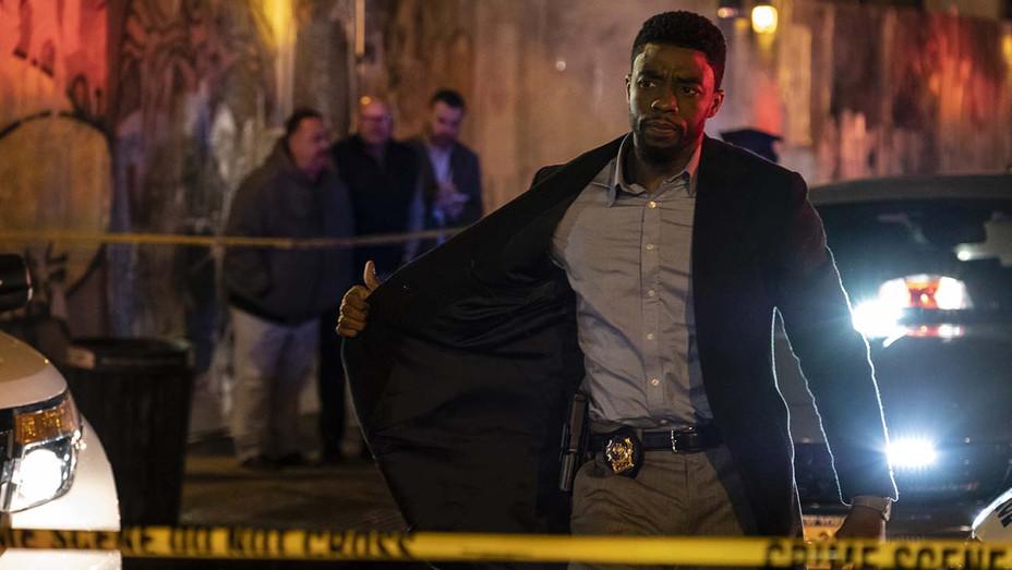21 Bridges Still 1 - Chadwick Boseman - STXfilms Publicity-H 2019