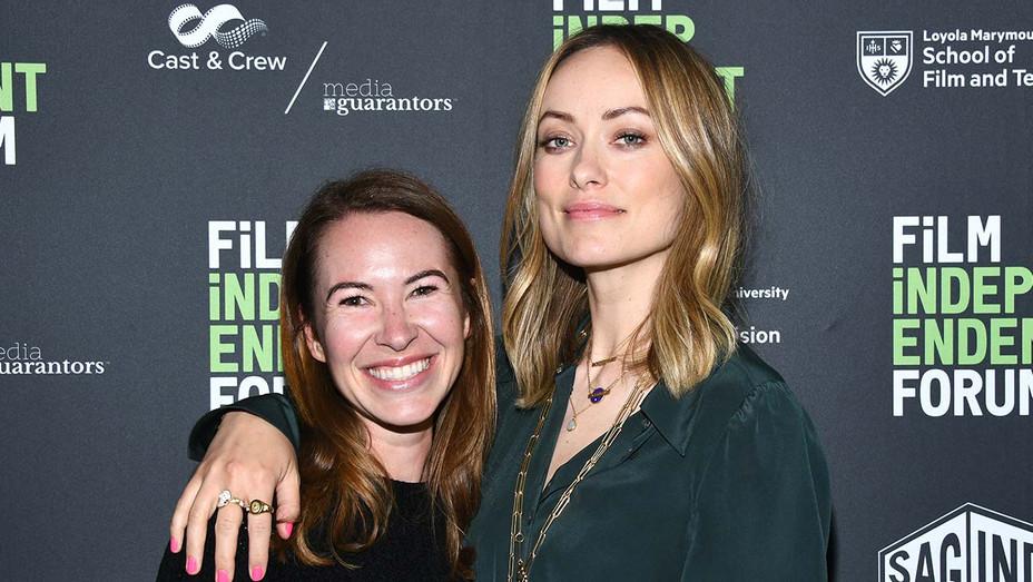 Olivia Wilde and Katie Silberman-Getty-H 2019