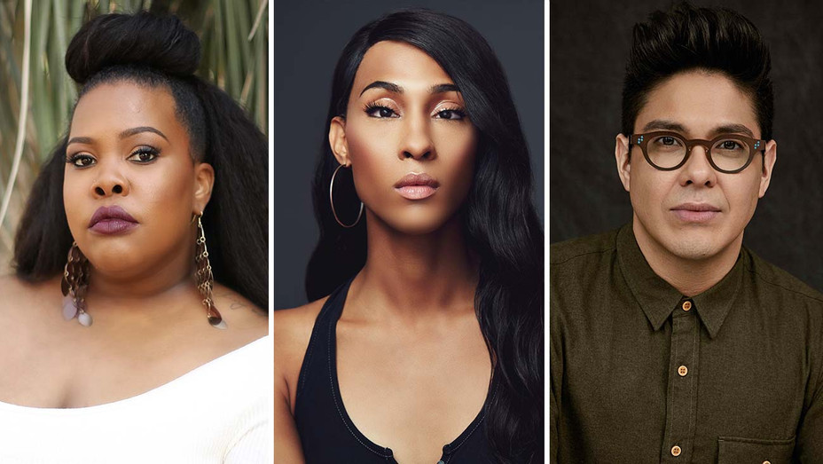 Amber Riley, Mj Rodriguez and George Salazar_Split - Publicity - H 2019