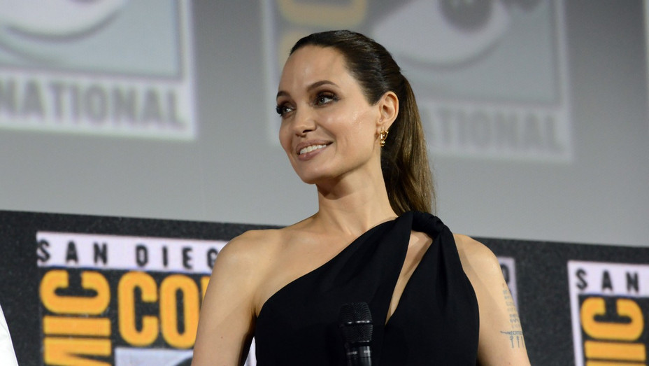 Angelina Jolie Comic-Con - Getty - H 2019