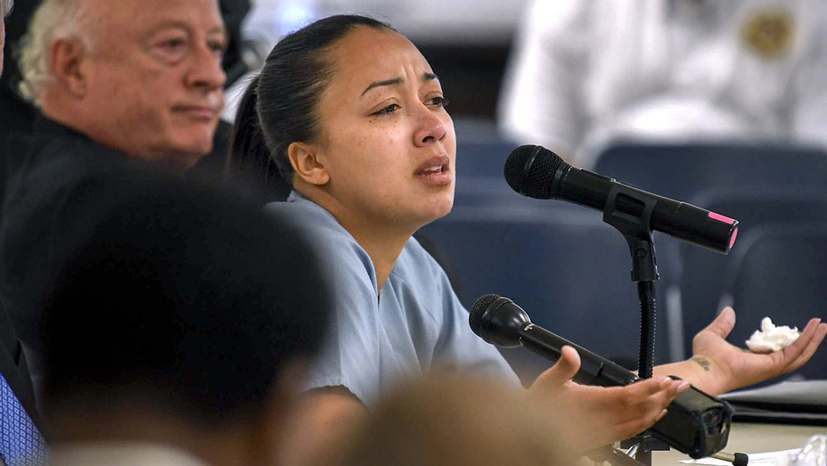 ONE TIME USE ONLY - Cyntoia Brown appearing in court during her clemency hearing - AP Photo -H 2019