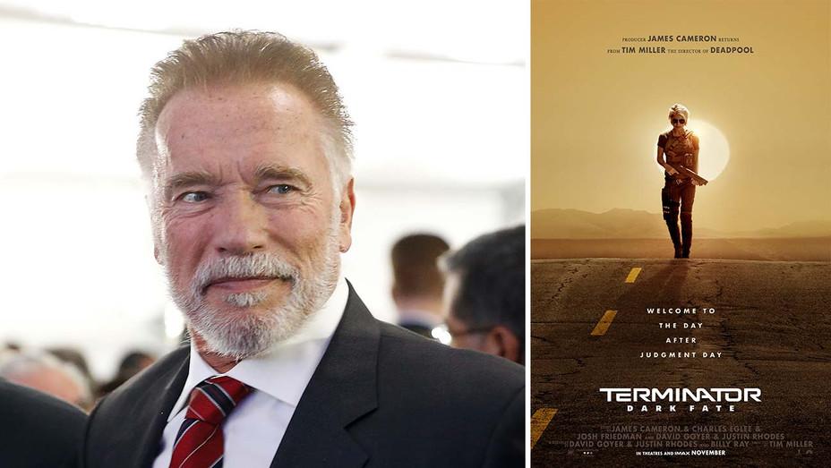 Arnold Schwarzenegger_Dark Fate Poster - Getty - H 2019