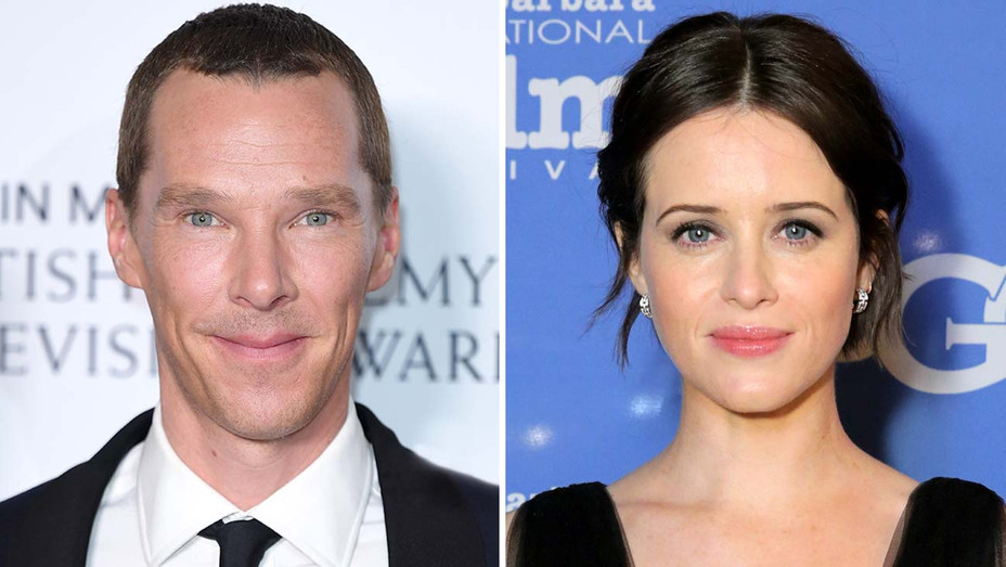 Benedict Cumberbatch and Claire Foy -Split- Getty-H 2019