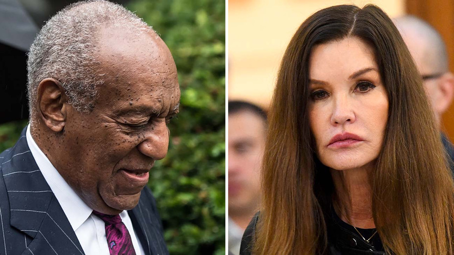 Bill Cosby - Janice Dickinson  - Split- Getty-H 2019