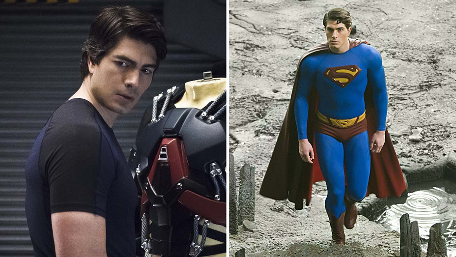 Brandon Routh Legends of Tomorrow Superman Returns Split - Photofest -  H 2019