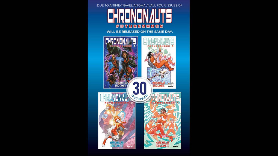 Chrononauts comic book from Mark Millar-Publicity-H 2019