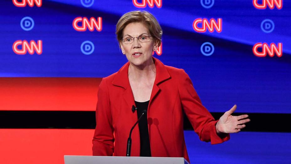 CNN Democratic Debate Round 2 Part 1_Elizabeth Warren - Getty - H 2019