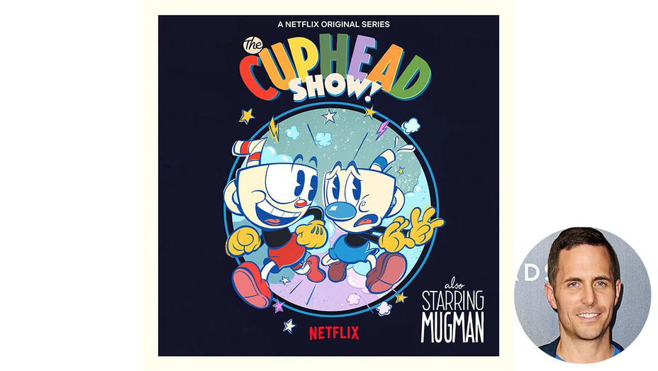 Cuphead Poster and Cuphead co-creator Chad Moldenhauer-Getty-H 2019