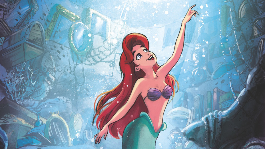 Disneys Little Mermaid Comic Cover - Publicity - H 2019