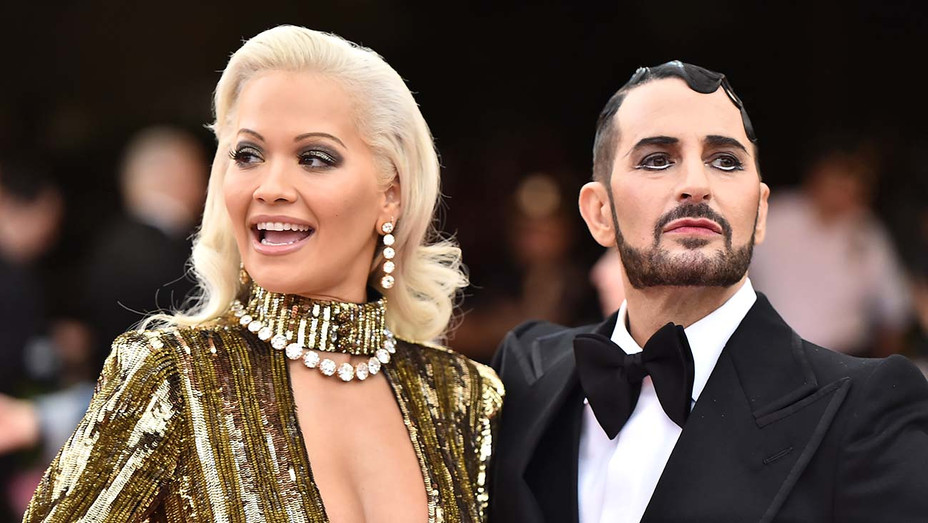 Rita Ora and Marc Jacobs attend The 2019 Met Gala Celebrating Camp - Getty - H 2019