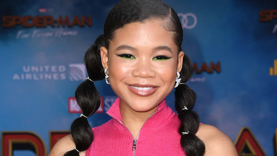 Storm Reid attends the Premiere Of Sony Pictures Spider-Man Far From Home - Getty- H 2019