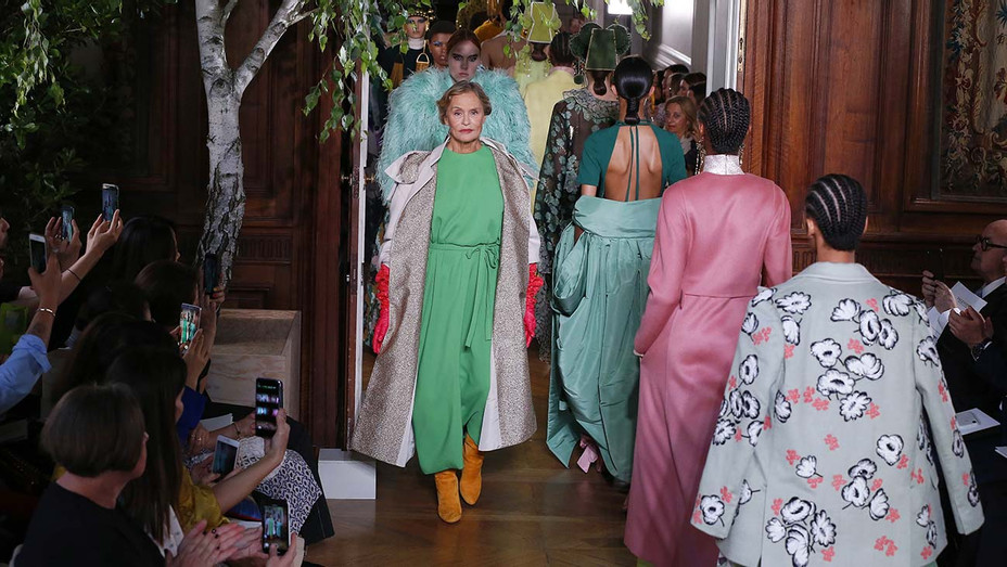 Valentino show during Paris Haute Couture Fall-Winter 2019-2020- Atmosphere -Lauren -Getty-H 2019