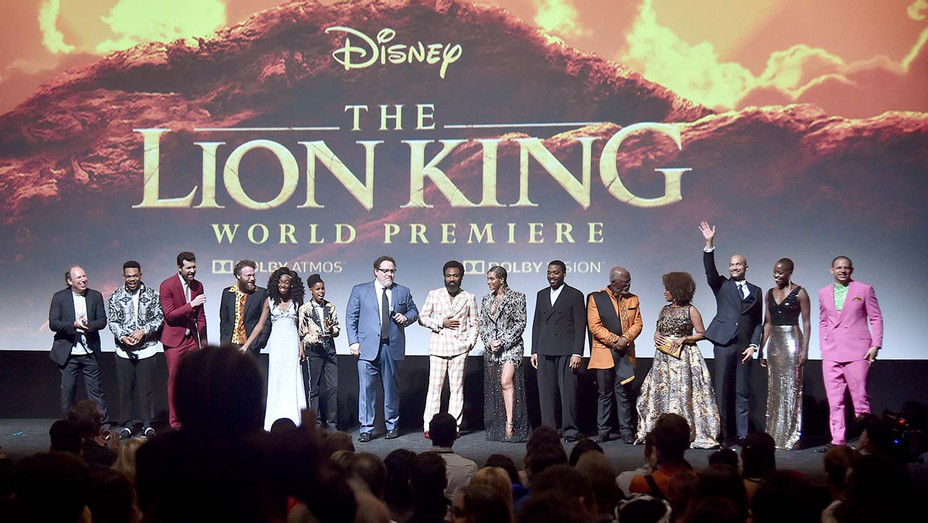 World Premiere of Disney's THE LION KING at the Dolby Theatre - Getty -H 2019