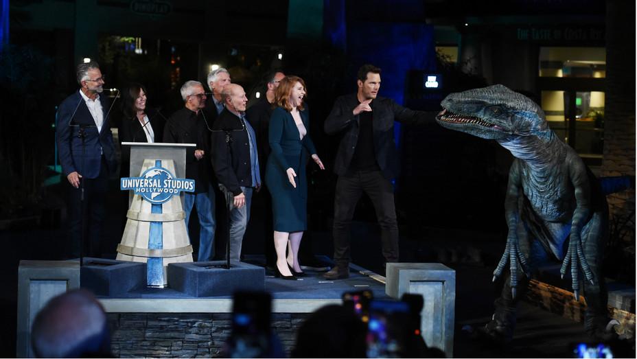 Jurassic World The Ride Universal Grand Opening - Getty - H 2019