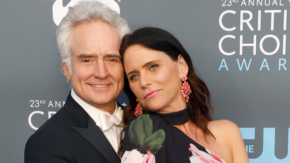 Bradley Whitford and Amy Landecker attend the 23rd Annual Critics' Choice Awards - Getty -H 2019