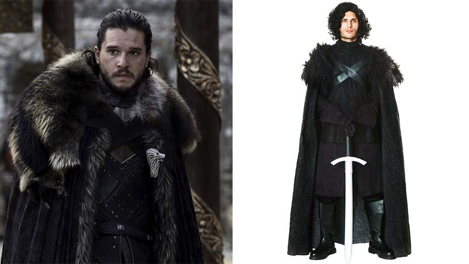 Costumes 2019 -  Game of Thrones - Jon-Split -EMBED 2019