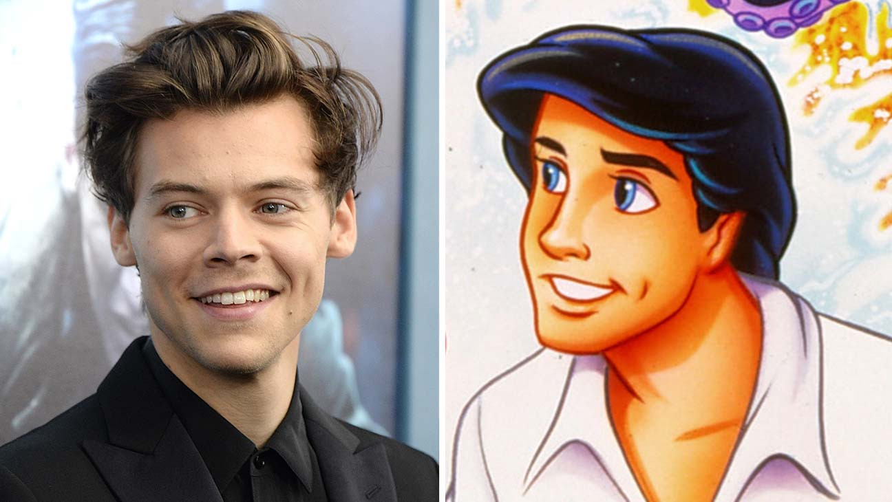Harry Styles In Talks To Play Prince Eric In Disney S Live Action Little Mermaid Hollywood Reporter