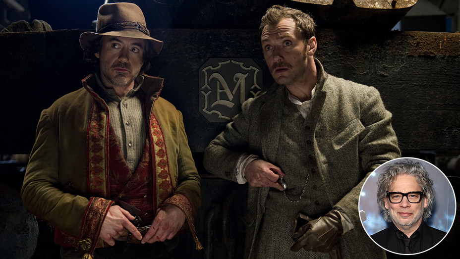 Sherlock Holmes A Game of Shadows Dexter Fletcher Inset - Photofest - H 2019