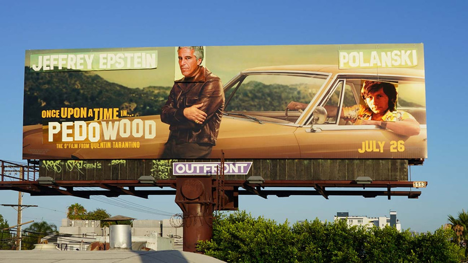 Polanski and Epstein Billboard - Publicity- H 2019