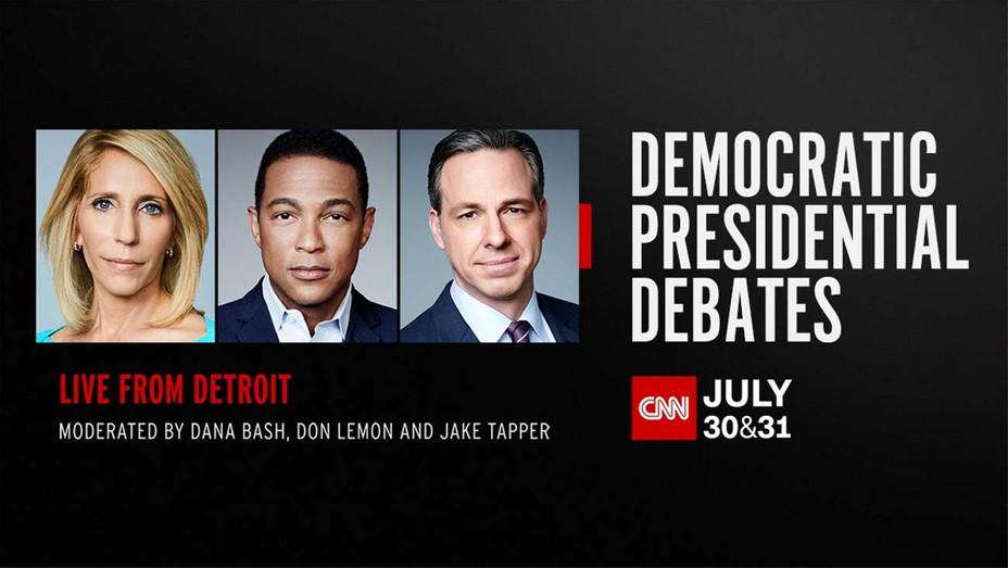 CNN - Democratic Presidential Debates -CNN Publicity- H 2019