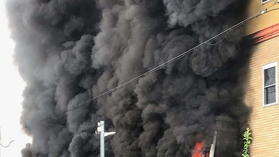 Firsthand Photo Japan Arson Attack - Publicity - EMBED 2019