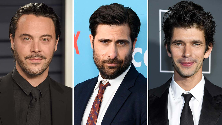 Jack Huston, Jason Schwartzman and Ben Whishaw-H Getty-H 2019