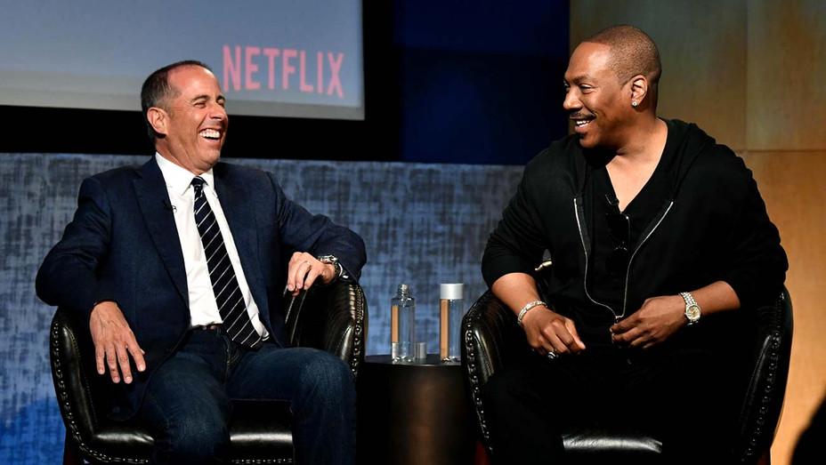 Jerry Seinfeld-Eddie Murphy-Getty-H 2019