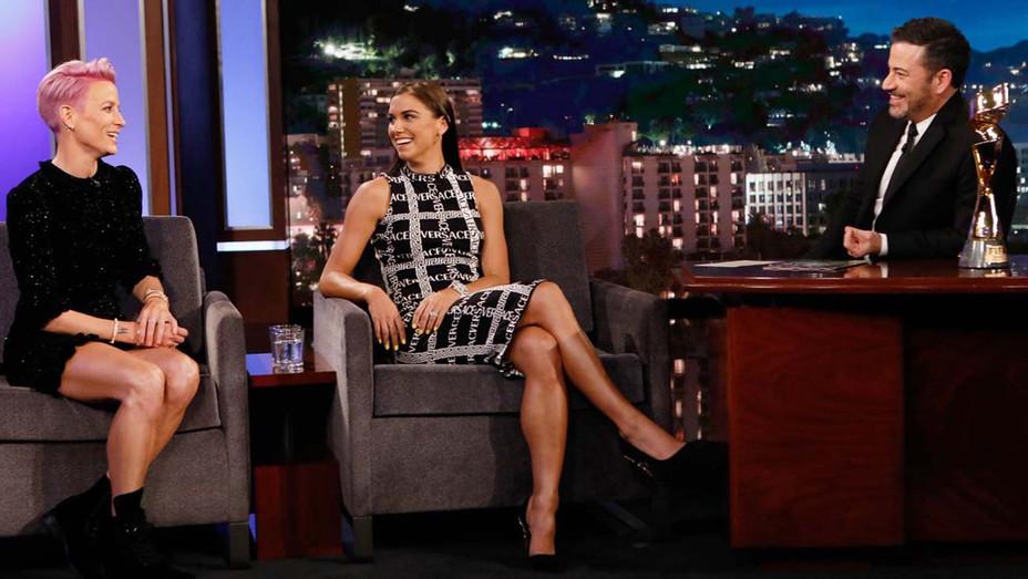 Megan Rapinoe, Alex Morgan Jimmy Kimmel Live — Publicity — H 2019