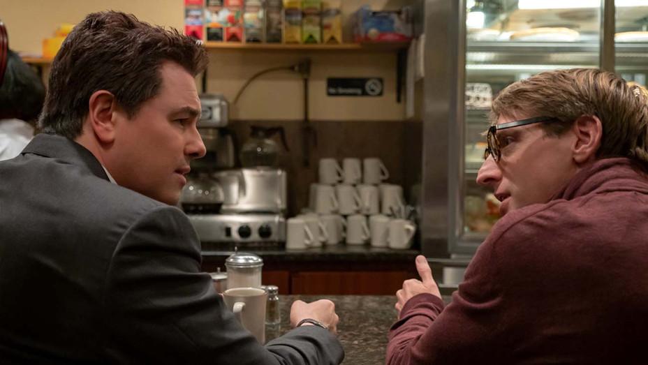 LOUDEST VOICE 105-Seth MacFarlane as Brian Lewis and Fran Kranz as Gabe Sherman-Publicity-H 2019