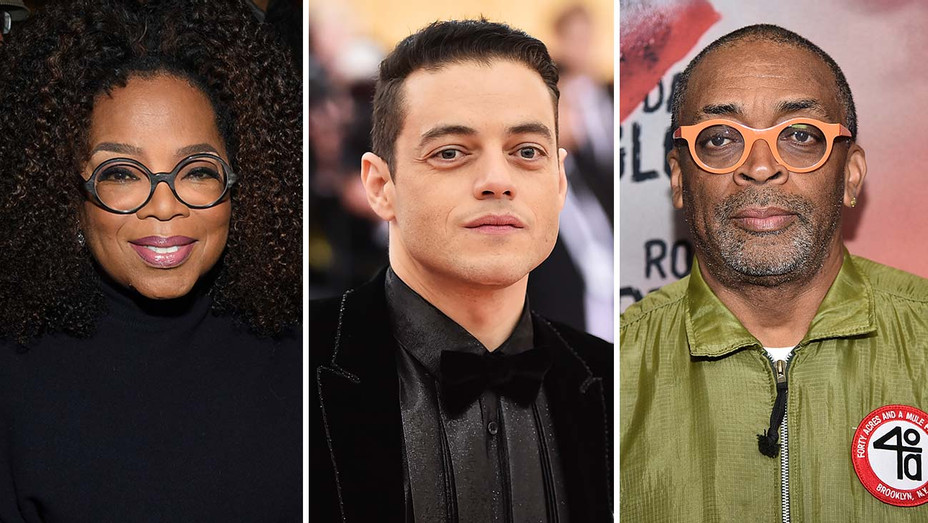 Oprah, Rami Malek, Spike Lee -Getty-H 2019