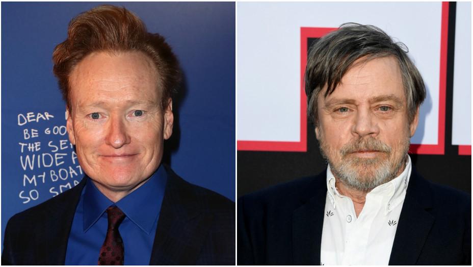 Conan O'Brien Mark Hamill Split - Getty - H 2019