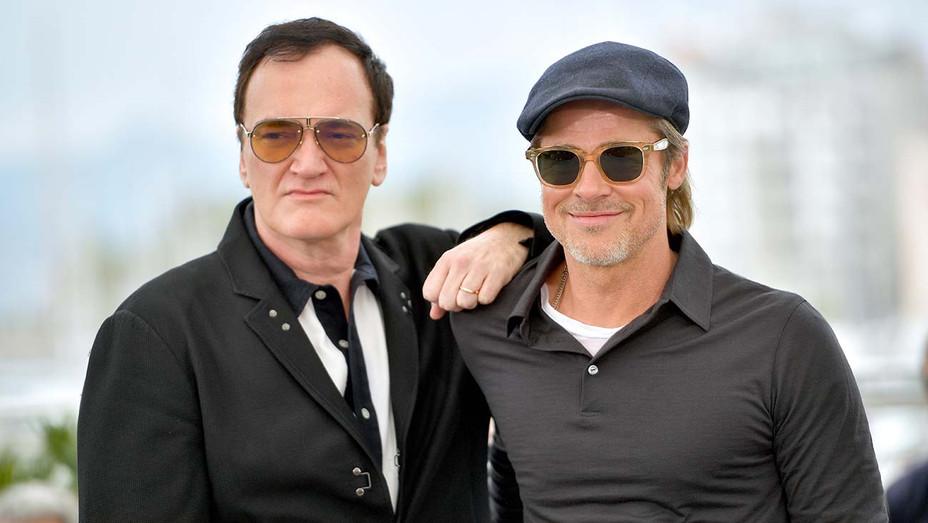 Quentin Tarantino_Brad Pitt - Getty - H 2019