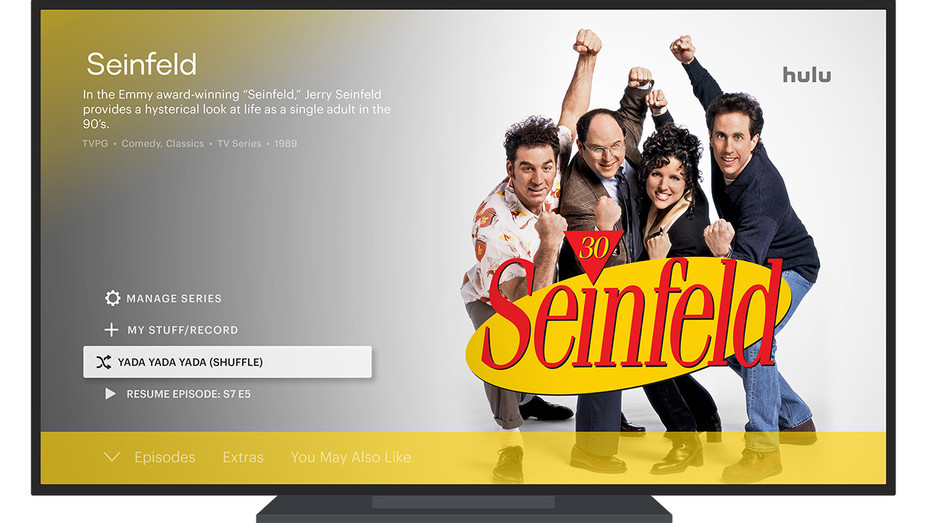 Hulu Seinfeld Shuffle Button - Publicity - H 2019