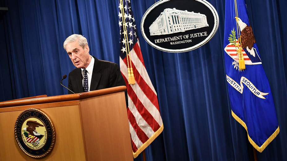Special Counsel Robert Mueller speaks on the investigation into Russian interference in the 2016 Presidential election-Getty-H 2019