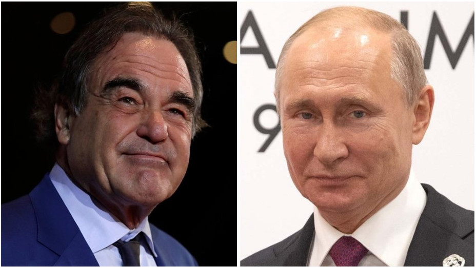 Oliver Stone Asked Vladimir Putin To Be His Daughter S Godfather Hollywood Reporter