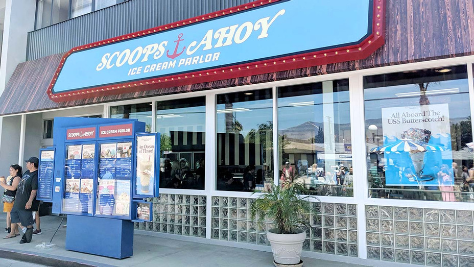 The Scoops Ahoy store at Baskin-Robbins in Burbank - Publicity-H 2019