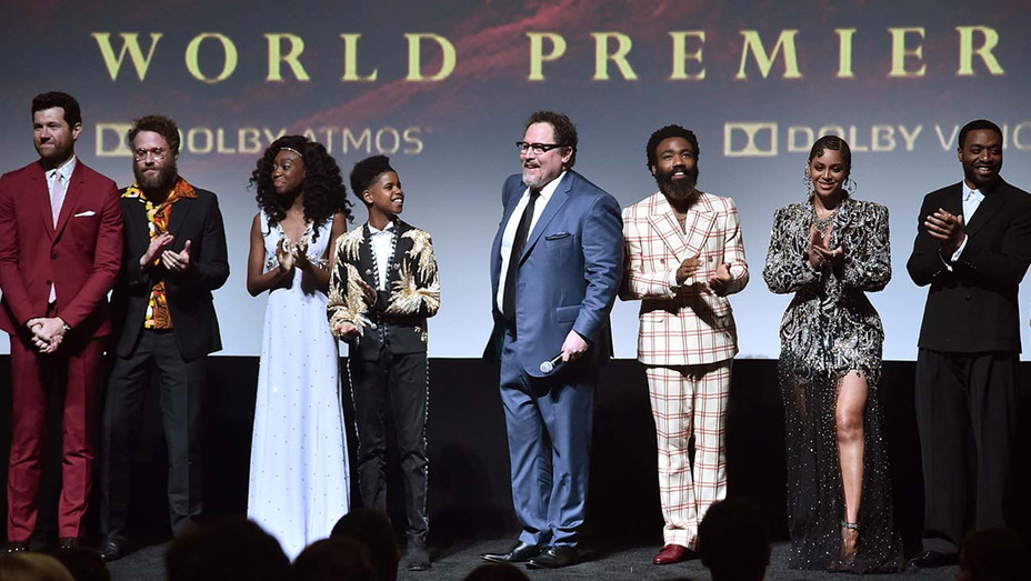 """The World Premiere Of Disney's """"THE LION KING""""-Getty-H 2019"""