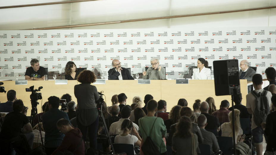 Woody Allen Spain press conference photo 2 - H 2019