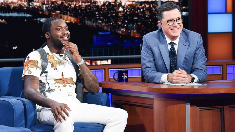 The Late Show Stephen Colbert Meek Mill - Publicity - H 2019