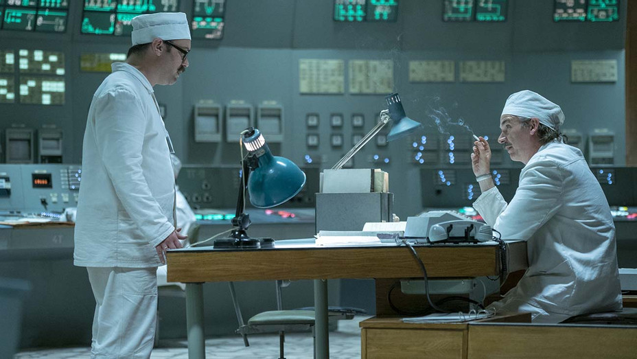Chernobyl Sam Troughten Paul Ritter Episode 5 - Publicity - H 2019